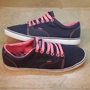 d5df362521 Vans Women s Classic Canvas Low Skate Shoe Sz 9